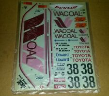 VINTAGE TAMIYA Decal Wacoal 1/12 84c RC 956 TOYOTA TOM'S MIP Stickers