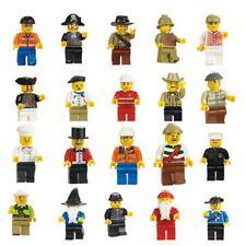 50pcs Bulks Mix Lots Minifigs Figures Men People Minifigures Toys Grab Bag Cute