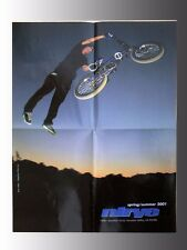 "2001, Nirve BMX, Freestyle, Dirt Bicycle Poster, Stephen Murray 17""x22"""