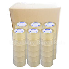 """New 36 Rolls-2""""x110 Yards(330' ft) Box Carton Sealing Packing Package Tape"""