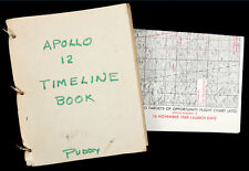 1969 Apollo 12, important working manuals Lot 882