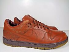 Mens Nike Dunk Low 1 Piece Pony 312424-222 Basketball shoes size 10.5