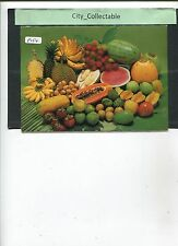 P054 # MALAYSIA PICTURE POST CARD * MALAYSIAN FRUITS