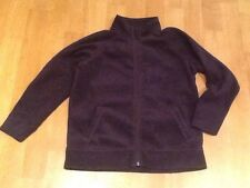 SCHOOL UNIFORM NAVY FLEECE ZIP UP PE  TOP AGE 11 Years ~ 146cm