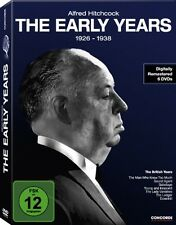 ALFRED HITCHCOOK Collection 1926 - 1938 THE EARLY YEARS Edition 6 DVD Box Neu
