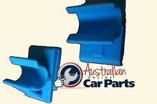 COMMODORE HOLDEN LOWER GLOVE BOX CLIP SET VY VZ WK WL MODIFIED FIX glovebox new