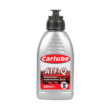 Carlube ATF-Q Automatic Transmission Power Steering Fluid Dexron 2 - 500ml