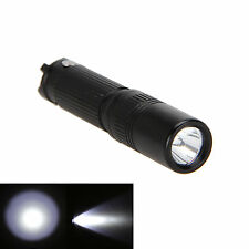 Mini Tactical 1000LM CREE R5 LED Flashlight Torch  Hunting Handy Light Black UK