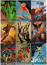1993 MARVEL MASTERPIECES SERIES II 2 SKYBOX COMPLETE SET #1-90 X-Men