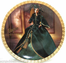 Barbie as Scarlet O'Hara Collector Plate Gone with the Wind Enesco LE 10,000