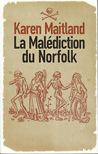 "Livre Roman ""  La Malédiction du Norfolk - K. Maitland  "" ( Book )  (No 120 )"