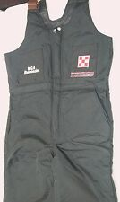 3M Thinsulate Barnyard Basics Men's M (38W x 32L) Black Nylon Bib Overalls #H158