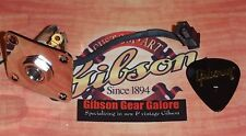 Gibson Les Paul Standard 1/4 Inch Input Jack Guitar Parts Quick Connect Nickel B