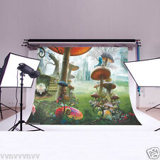 Alice in wonderland Backdrop Photography background studio Photo Prop 7X5FT 2568