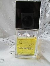 Vtg Chanel Cristalle Women's Eau de Parfum 1.7 oz 50 ml EDP Spray Perfume