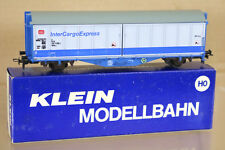 KLEIN MODELLBAHN 3153 DB INTERCARGO EXPRESS SLIDING DOOR WAGON 000-9 ni