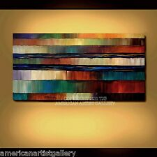 LARGE 24x48 Original Abstract Painting Impasto Modern Wall Art By Thomas John