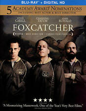 Foxcatcher (Blu-ray Disc, 2015, Includes Digital Copy UltraViolet) NEW/SLIPCOVER