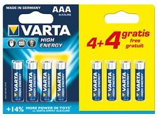 "PILES ALCALINE AAA / LR03 ""HIGH ENERGY"", 1.5V PACK PROMO"