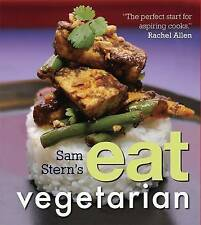 STERN SAM-SAM STERN`S EAT VEGETARIAN  BOOK NEW