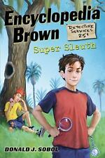 ENCYCLOPEDIA BROWN SUPER SLEUTH BY DONALD SOBOL- HARDBACK- RETAIL