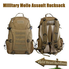 35L SWAT Molle Army Tactical Military Style Assault bag Backpack Sandy BNE Stock