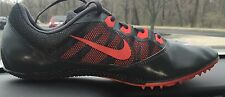 Nike Track Shoes Mens 13 Spikes Racing Rivals Red Gray Silver 616313-006