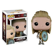 "FUNKO 2015 POP TV VIKINGS LAGERTHA #178 Vinyl 3 3/4"" Figure IN STOCK"