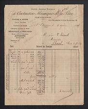 """SAINT-ETIENNE (42) USINE de CYCLES / CONSTRUCTEUR """"AUTOMOTO"""" en 1914"""