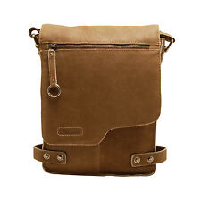 Ashwood - Antique Tan A4 Cow Vintage Leather Camden Messenger Bag