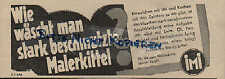GENTHIN, Werbung 1936, Henkel Cie iMi Waschmittel für Berufskleidung Persil