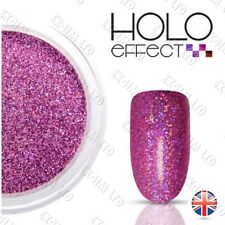 Purple LASER HOLO MERMAID EFFECT NAIL ART POWDER  Holographic   Lilac 18