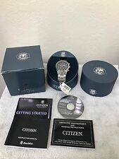 Citizen Eco-Drive World Chronograph AT Radio Mens Watch AT8010-58E