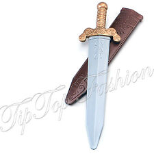 NEW MEDIEVAL SPARTAN ROMAN WARRIOR GLADIATOR SWORD FANCY DRESS COSTUME ACCESSORY