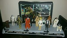 1977 Star Wars Mail Away Display Stand w First 12 Original Figures