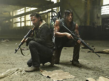 Poster A3 The Walking Dead Rick Grimes Daryl 02