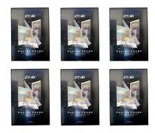 Value Pack Six 27x40 Movie Poster Frames Black Solid Backing Assembled 27 x 40