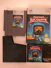Captain Skyhawk  (Sky Hawk) NES GAME TESTED INCLUDES MANUAL AND CASE
