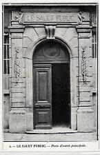 CPA -69-  LYON - LE SALUT PUBLIC - Porte d'entrée principale.