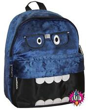 NEW DAVID AND GOLIATH MINI BLUE PLUSH BAG SHOULDER SCHOOL BACKPACK RUCKSACK