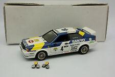 Transkit Base Conrad 1/43 - Audi Coupe Quattro Rallye de Suede 1982 Blompqvist