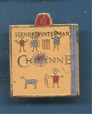 Pin's pin TABAC CIGARE HENRI WINTERMANS CHEYENNE (ref 098)
