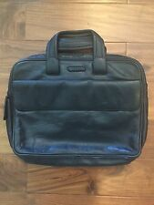 Italian Piquadro All Leather Briefcase Loptap B
