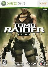 Used Xbox 360 Tomb Raider Underworld  MICROSOFT  JAPAN JAPANESE JAPONAIS IMPORT