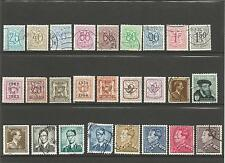 Belgium   Belgie  1937 - 1960  Small Collection / Lot Used Stamps