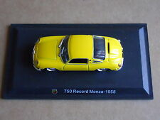 Leo Models CAR DIE CAST 1:43 NEW - ABARTH 750 RECORD MONZA 1958  [MV-13 ]