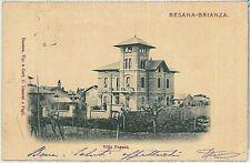 CARTOLINA d'Epoca MONZA - Besana in Brianza 1902