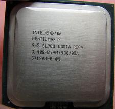 Intel Pentium D 945 SL9QQ SL9QB 3.4GHz/4M/800 LGA 775 CPU Processor