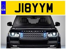 J18 YYM JIMBO JIMMY JAMIE JIMS JAMES JAM JAMESY JIMMIE PRIVATE NUMBER PLATE FORD