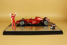 1/18 Hot Wheels Ferrari F1 Driver's Champion Brazil Grand Prix 2007 (box is old)